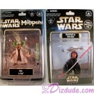 Star Wars Weekends 2012 ~ 2 Action Figure set Rizzo as Jedi Master Yoda Limited Release 2012 & Donald Duck as Darth Maul Sneak Preview Series 6 figure event packaging LE 600