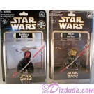 Star Wars Weekends 2012 ~ 2 Action Figure set Donald Duck as Savage Opress LE Individually Numbered 2012 & Donald Duck as Darth Maul Sneak Preview Series 6 figure event packaging LE 600