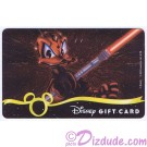 Star Wars Gift Card with Donald Duck as Darth Maul ~ Disney Star Wars Weekends 2013 © Dizdude.com