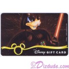 Star Wars Gift Card with Goofy as Darth Vader ~ Disney Star Wars Weekends 2013