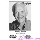 Jeremy Bulloch who played Boba Fett Presigned Official Star Wars Weekends 2014 Celebrity Collector Photo © Dizdude.com