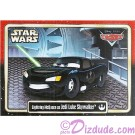"Disney Pixar ""Cars"" as LucasFilms ""Star Wars"" Character Lightning McQueen as Jedi Luke Skywalker Trading Card Series 3"
