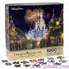 Magic Kingdom Main Street USA ~ Walt Disney World 1000 Piece Jigsaw Puzzle by Thomas Kinkade © Dizdude.com