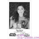 Tiya Sircar the voice of Sabine Wren Presigned Official Star Wars Weekends 2014 Celebrity Collector Photo © Dizdude.com