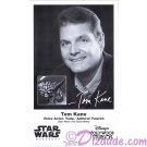 Tom Kane the voice of Yoda & Admiral Yularen Presigned Official Star Wars Weekends 2012 Celebrity Collector Photo © Dizdude.com