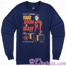 The Hollywood Tower Hotel Bellhop Long Sleeve Adult T-shirt (Tee, Tshirt or T shirt) - Disney Hollywood Studios Twilight Zone ~ Tower of Terror Ride