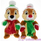 Disney Santa Elf's Chip 'N' Dale 7inch Plush Set