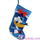 Disney Donald Duck Plush Christmas Stocking © Dizdude.com
