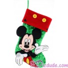 Disney Mickey Mouse Plush Christmas Stocking © Dizdude.com