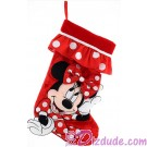 Disney Minnie Mouse Plush Christmas Stocking