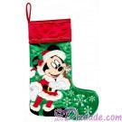 Disney Santa Mickey Mouse Christmas Stocking © Dizdude.com