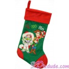 Disney Pixar Toy Story Christmas Stocking with Woody & Buzz © Dizdude.com