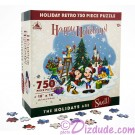 Mickey & Friends Retro Christmas - Holiday 750 Piece Jigsaw Puzzle