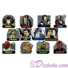 Star Wars Weekends 2013 Zodiac Mystery Set of 12 Pins LE6000