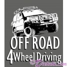 Off Road 4 Wheel Driving T-Shirt or Tank Top (Tshirt, T shirt or Tee) © HIPPIEWORKS