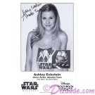 Ashley Eckstein the voice of Ahsoka Tano Presigned Official Star Wars Weekends 2012 Celebrity Collector Photo © Dizdude.com