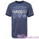 Explore The World Of Pandora Badges Adult Ringer T-shirt (Tee, Tshirt or T shirt) - Disney Pandora – The World of Avatar