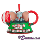 Dumbo the Flying Elephant celebrates his very first Christmas