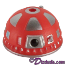 Red R9  Dome Part ~ Disney Star Wars Astromech Build-A-Droid Factory © Dizdude.com