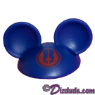Blue Mickey Mouse Ears Hat Part ~ Disney Star Wars Astromech Build-A-Droid Factory © Dizdude.com