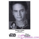 Daniel Logan who played Young Boba Fett Presigned Official Star Wars Weekends 2012 Celebrity Collector Photo © Dizdude.com