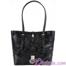 Dooney & Bourke Black Leather Sketch Tote handbag - Disney World Exclusive  © Dizdude.com
