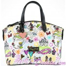 Disney World Exclusive Nylon Sketch Large Satchel ~ With Black Trim © Dizdude.com