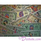 DISNEY DOLLARS U PICK HOW MANY U WANT $1, $5, $25, $100 for Gifts or Child Rewards - © DIZDUDE.com