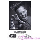 Dee Bradley Baker the voice of Captain Rex Presigned Official Star Wars Weekends 2012 Celebrity Collector Photo © Dizdude.com