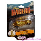 Star Tours Disney Racers C-3PO Die cast metal body race car 1/64 scale - Disney Star Wars Weekends 2014 © Dizdude.com