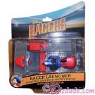 Racer Launcher with Sorcerer Mickey Racer - Disney Racers Die cast metal body race car 1/64 scale © Dizdude.com