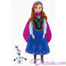 "Disney Frozen Anna 12"" Doll - Classic Collection ~ Walt Disney World"
