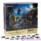 Disney's Pirates of the Caribbean: The Curse of the Black Pearl Jigsaw Puzzle 1000 Piece by Thomas Kinkade © Dizdude.com
