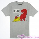 Dinosaur I'm A Lover Not A Biter Adult T-shirt (Tee, Tshirt or T shirt) - Disney Animal Kingdom Dino Institute