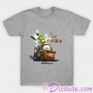 "Vintage Disney Pixar Cars Mater ""Who Backfired?"" Youth T-shirt (Tee, Tshirt or T shirt) © Dizdude.com"