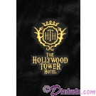 Hollywood Tower Hotel Black Plush Robe (Bathrobe)  ~ The Twilight Zone ~ Tower of Terror