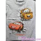Disney Pixar Cars Mater And Lightning McQueen Kids T-shirt (Tee, Tshirt or T shirt)