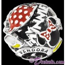 Disney Pandora Minnie Mania Sterling Silver Charm - Disney World Parks Exclusive