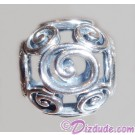 "Disney Pandora ""Mickey Swirls"" Sterling Silver Charm - Disney World Parks Exclusive"