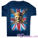 Pirates of the Caribbean Union Jack and Skull and Cross Swords T-shirt