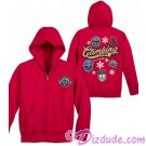 Badges Expedition Everest Youth Zip Hoodie ~ Disney Animal Kingdom