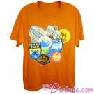 Vintage Disney Animal Kingdoms Expedition Everest Patches Adult T-Shirt (Tee, Tshirt or T shirt)