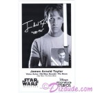 James Arnold Taylor (JAT) the voice of Obi-Wan Kanobi & Plo Koon Presigned Official Star Wars Weekends 2013 Celebrity Collector Photo © Dizdude.com