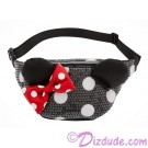 Minnie Mouse Polka Dot Sequined Hip / Fanny Pack by Loungefly - Disney Parks © Dizdude.com