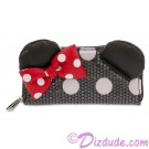 Minnie Mouse Polka Dot Sequined Wallet by Loungefly - Disney Parks © Dizdude.com