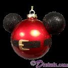 Disney Mickey Mouse Ears Santa Jacket Christmas Tree Ornament © Dizdude.com