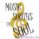 Music Sooths The Soul T-Shirt or Tank Top (Tshirt, T shirt or Tee) © HIPPIEWORKS