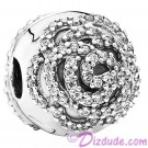 Disney Pandora Shimmering Rose Clip Charm with Cubic Zirconias - Mothers Day Collection 2015