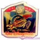 Walt Disney World Something New in Every Corner Press Set - MGM Studios / Rock 'n' Roller Coaster Pin LE 1200 © Dizdude.com