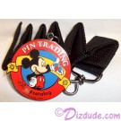 Disney Catalog - Pin Trading Logo Medallion with Black Lanyard © Dizdude.com